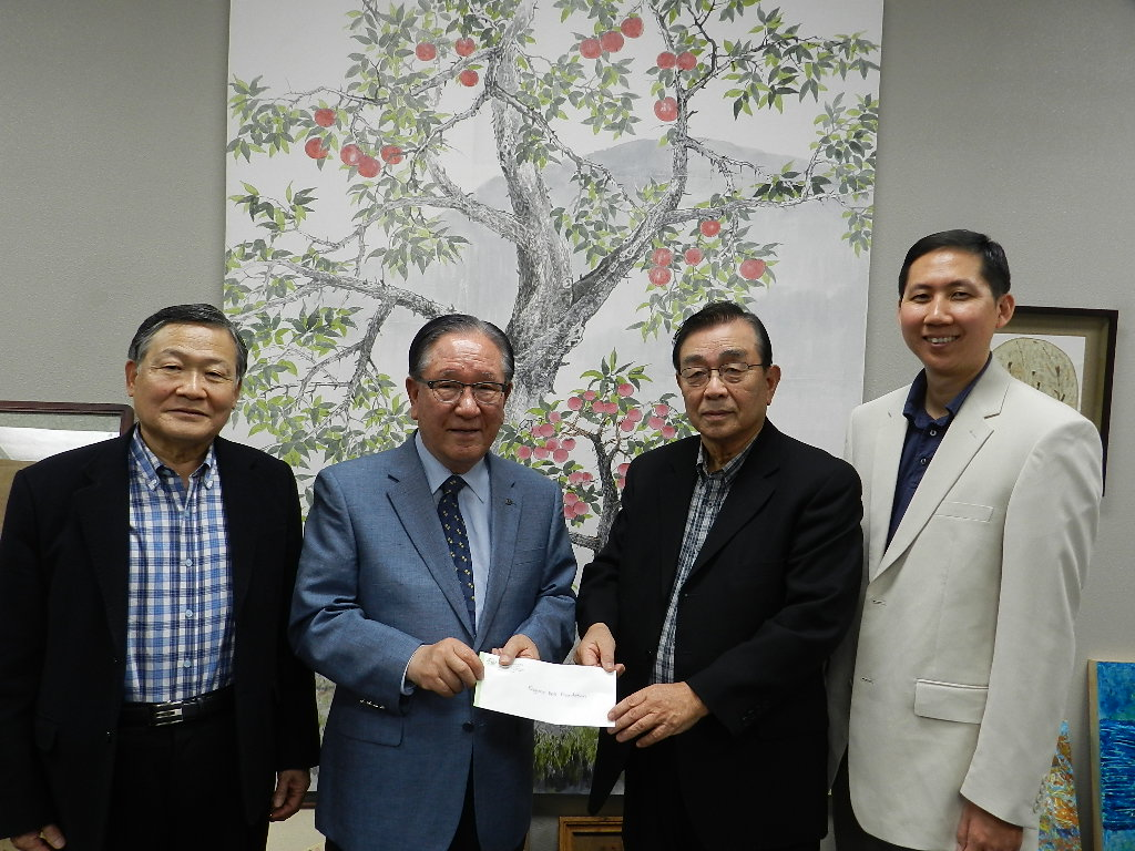 소망소망소사이어티 북한 결핵치료에 1만달러 2012년 4월 29일 LA중앙일보