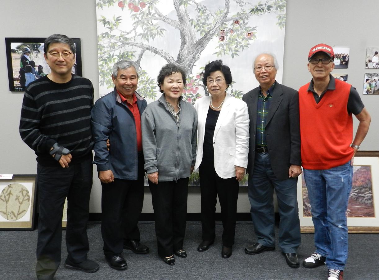 [방문] 권홍량 목사님, 사모님 방문