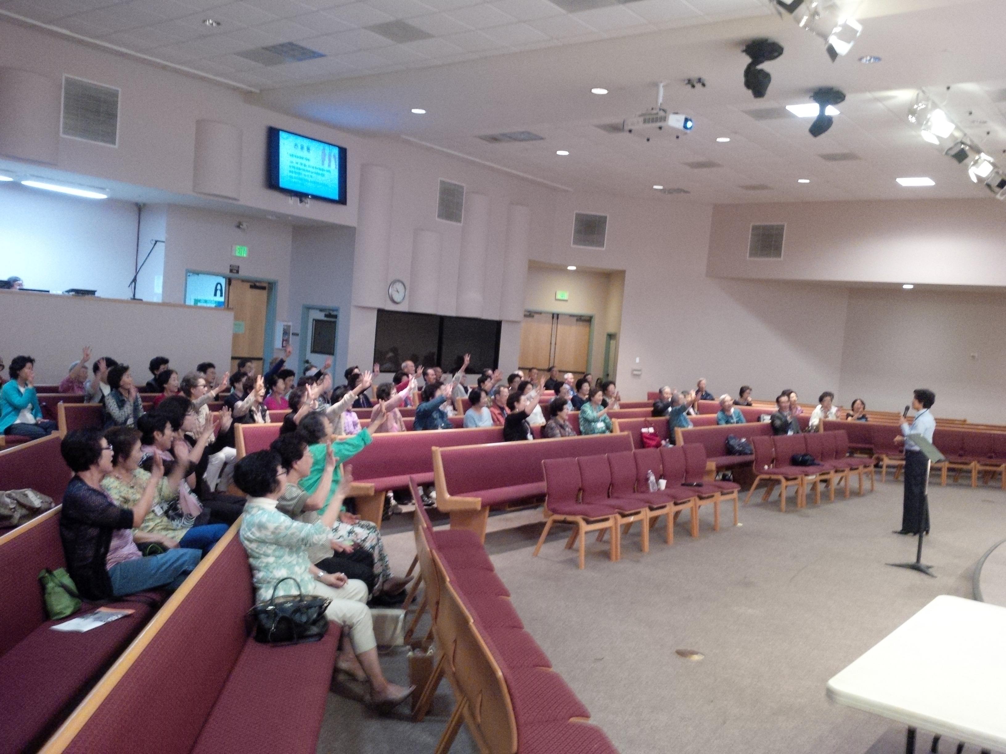 제131차 소망교육세미나 – 세리토스 장로교회 늘 푸른 대학
