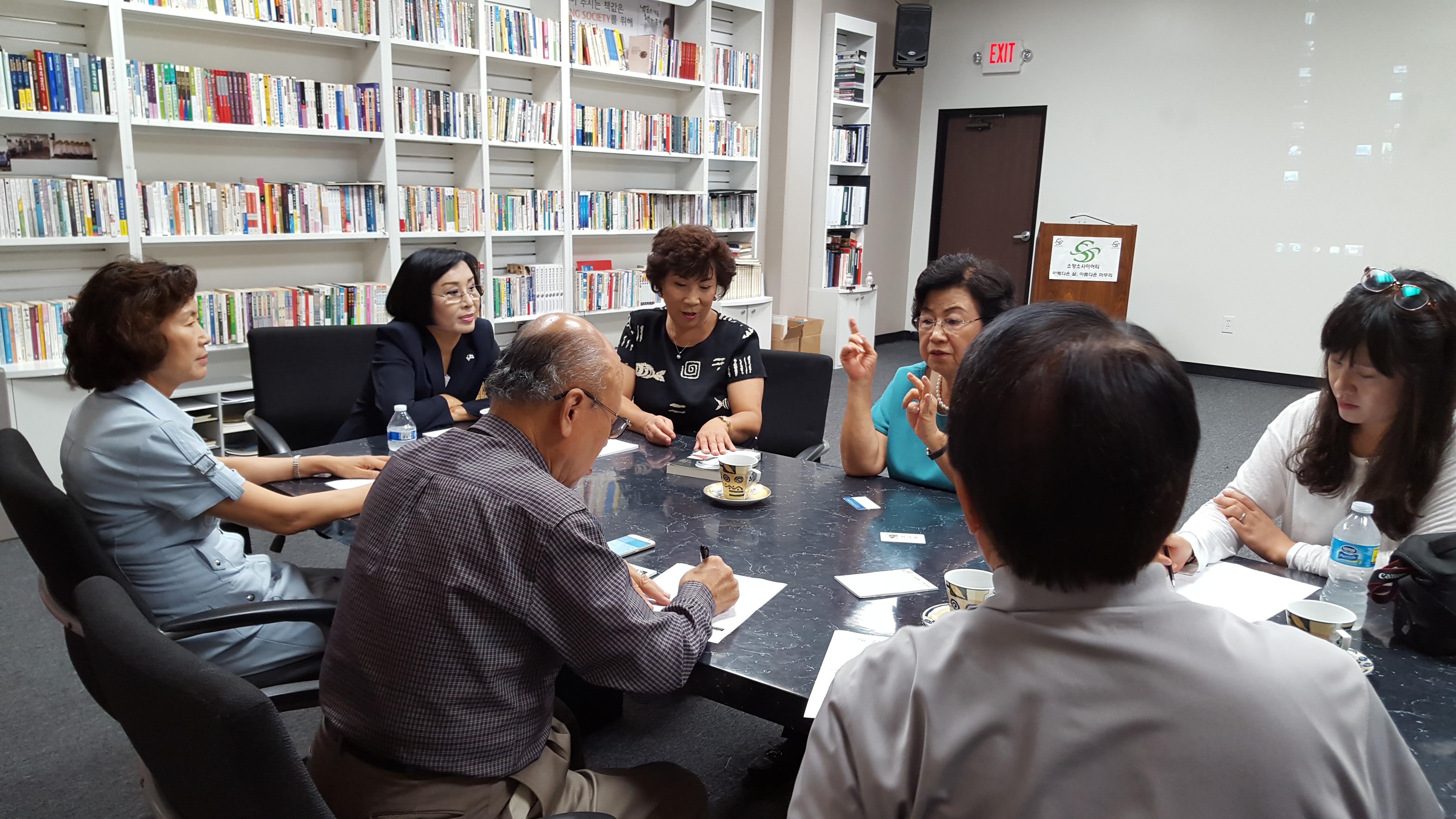 [방문] 정영태 사모님, 김다래 집사님 방문